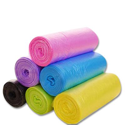 10卷装大号30只装彩色垃圾袋 一次性垃圾袋 点断式垃圾袋颜色随机