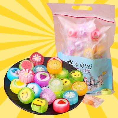 糖果手工切片糖果500g/110颗儿童水果糖硬糖喜糖120g多规格