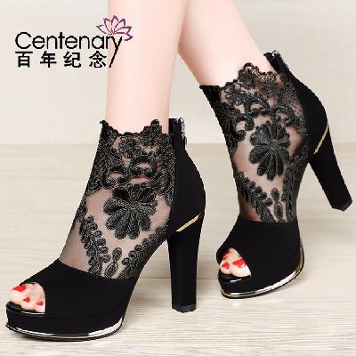 鞋拖春装女鞋夏季凉鞋女低跟凉鞋女韩版平底学生女生老年女软底女