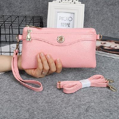 民族包包笔袋女韩版挂件小皮包女士钱包短款女生单肩包挎包欧美范