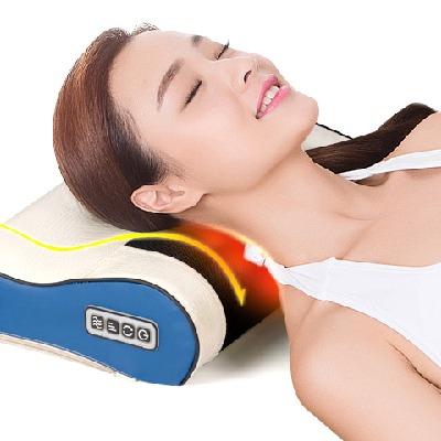 【亏完涨价 仅亏一次】【躺着也可以按摩】千禧康乐正品按摩枕颈椎按摩器按摩多功能全身靠垫颈椎按摩器颈部腰部背部肩部家用