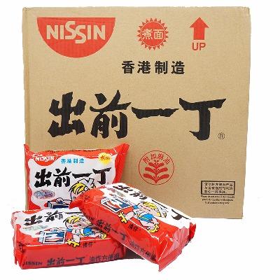 中国香港进口出前一丁方便面整箱100g×30袋多味可选进口方便面