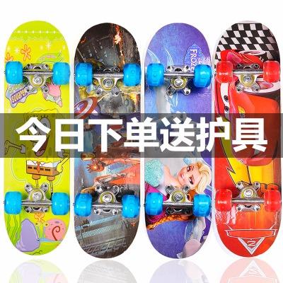 代步车成人儿童运动装长板滑板溜冰鞋成人女平行车长板弹跃龙暴走