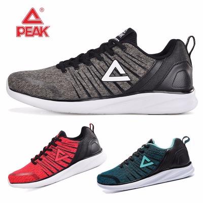 正品匹克跑步鞋2018春季新款网面透气轻便休闲运动鞋跑鞋男鞋E73377H女鞋E73378H
