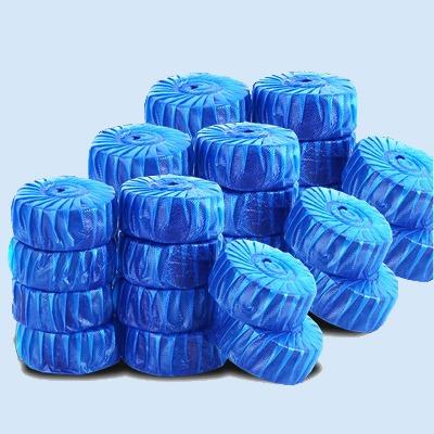 50只装蓝泡泡洁厕灵马桶清洁剂马桶清洁剂耐用去污卫生间消毒