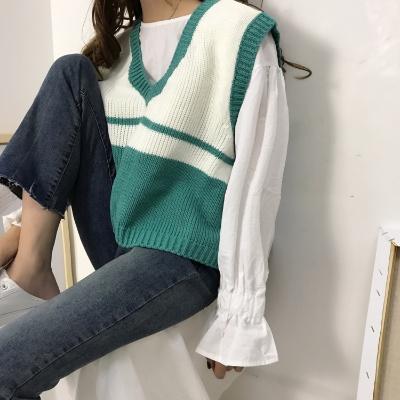 男羊绒衫小衫女学生韩版水貂绒毛衣外套女短款学生低领长款毛衣休