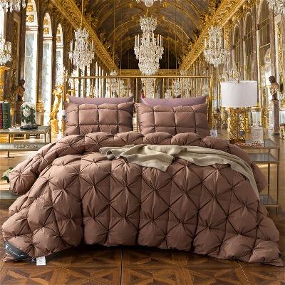 【假一罚十】羽绒被95%白鹅绒被子希尔顿酒店加厚保暖冬季被芯2m