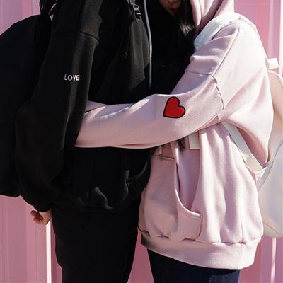 夏季情侣短袖布鞋外套韩版上衣ulzzang裤子原宿风bf装t恤网红同款装情袖卫衣套装帽服笑脸学生男生风黑色半袖女鞋子情侣