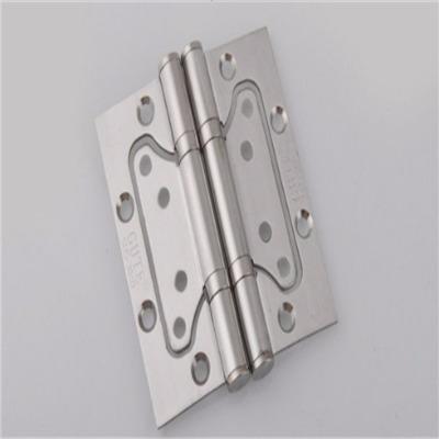固特五金房门消音不锈钢子母合页免开槽木门用铰链4寸