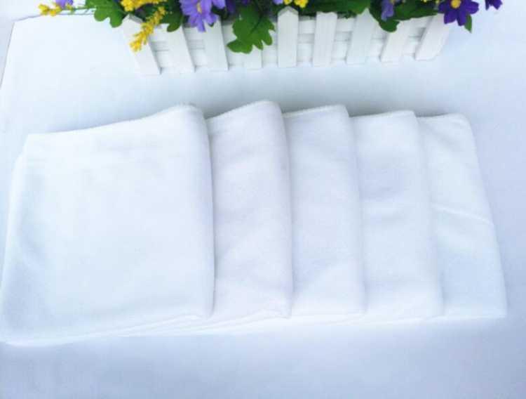 一次性白毛巾非纯棉批发酒店毛巾超细纤维宾馆足疗毛巾洗浴池毛巾