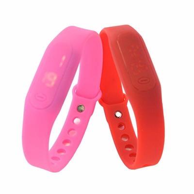男女手表LED硅胶手环电子表非防水简约情侣手表【多种颜色可选】