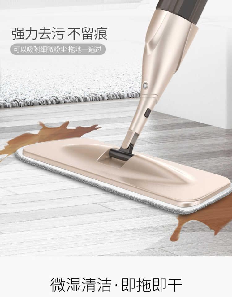 喷雾喷水平板拖把家用木地板旋转瓷砖地懒人一拖免手洗拖地拖布净