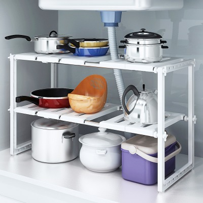 懒人用品厨房水槽烤箱架放盆架盆子收纳架厨房置物架壁挂置物架锅图片