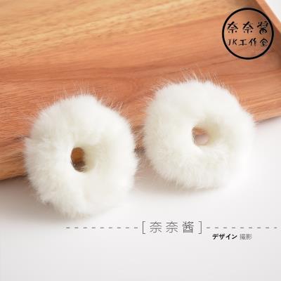 【卖萌利器】日系软妹JK制服双马尾仿兔毛毛绒绒发圈发绳头饰毛球