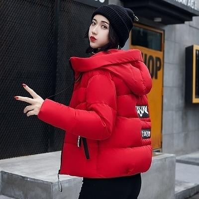 【特价促销】【挥泪大清仓】2017新款冬季女装短款宽松韩版学生加厚保暖外套冬装羽绒棉服时尚可爱