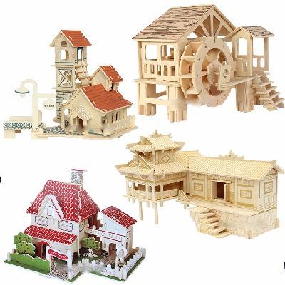 奇怪玩具元的玩具恐怖男孩生日礼物积木儿童火车城堡小猪佩奇的玩