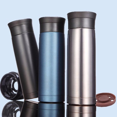 全304不锈钢车载杯保温杯420ML男女士双层真空不锈钢水杯便携商务