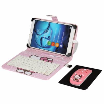 平板游戏键盘壳手机键盘无线鼠标套装单手手机壳朋克机械奥特曼皮