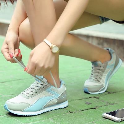 透气网面运动时尚休闲鞋女波鞋阿甘鞋轻便潮鞋校园鞋板鞋韩版皮面