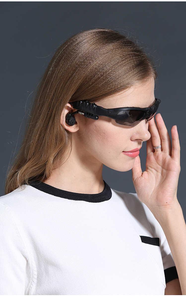 蓝牙偏光眼镜听歌打电话无线运动智能蓝牙耳机太阳镜立体声头戴式
