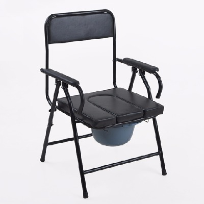 【孝为先】坐便椅 老人可折叠孕妇坐便器马桶大便椅移动 马桶老年