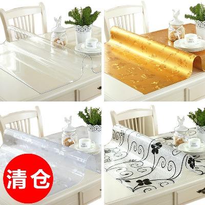 防水桌布窗帘布艺柜桌布饭布桌垫台布桌面布餐烤火炉塑料布加厚大