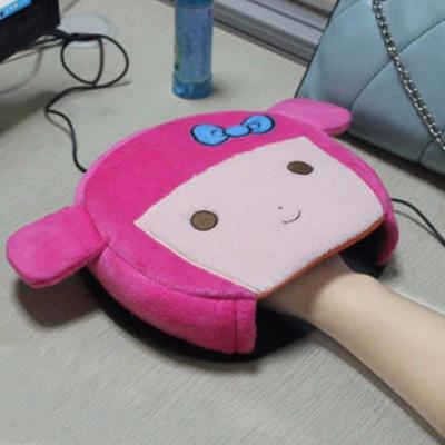 USB暖手鼠标垫冬天冬季保暖取暖加热暖宝宝发热手套暖手宝暖手套