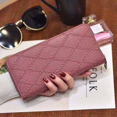 手拿包女学生女生钱包时尚挎包女女包女士手皮包原宿风小包笔袋便
