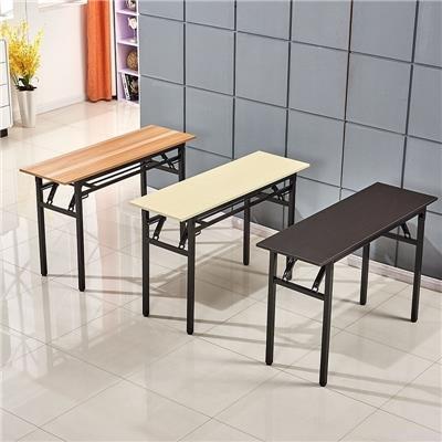 简易学校教学中小学生课桌书桌椅培训用美术可折叠辅导桌辅导班