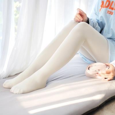 掌柜力荐日系牛品打底袜哑光秋冬连裤袜加厚塑形高腰轻压力瘦腿袜