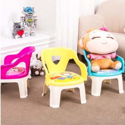 【多多推荐2018新款】加厚儿童椅宝宝叫叫椅儿童椅子靠背椅塑料幼儿园小凳子宝宝小板凳电脑椅家用办公椅可躺老板椅升降转椅按