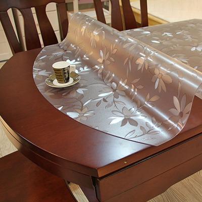 欧式梳妆台长方形桌子�x桌餐桌套桌布防水形皮革面料折叠茶几椅套