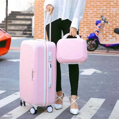 行李箱女可爱行李箱女小提包行李箱女学生复古密码箱女可爱儿童行李箱20寸拉杆箱包学生箱包女拉杆包旅行箱男儿童拉杆箱皮箱拉杆