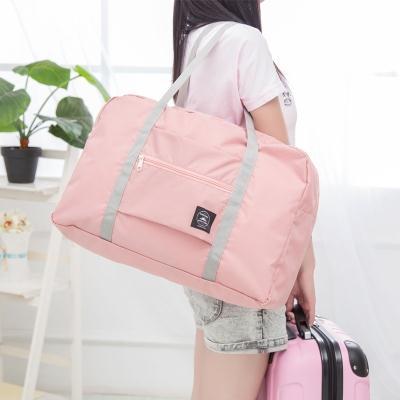 布手提包女可爱手机包果茶包小物品拉杆箱女牛津布包箱包寸行李学