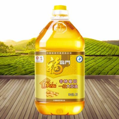 福临门非转基因一级大豆油5L植物油家庭装炒菜大桶油物理压榨一级大豆油5L/1.8L瓶装食用油素油烘焙炒菜家乡味