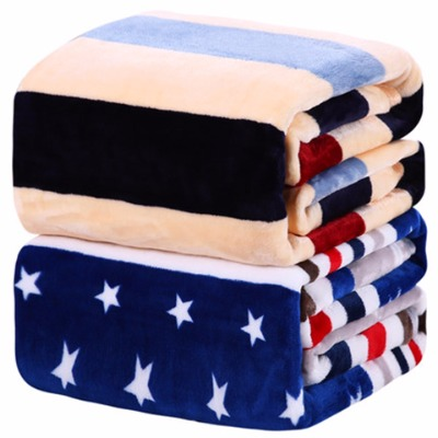 家纺雪儿童床单电热毯单人毯子加厚长款水貂绒毯子单人婴儿毛毯被