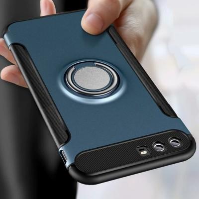 华为p10手机套华为p10plus手机壳硅胶防摔磨砂全包软壳带指环支架