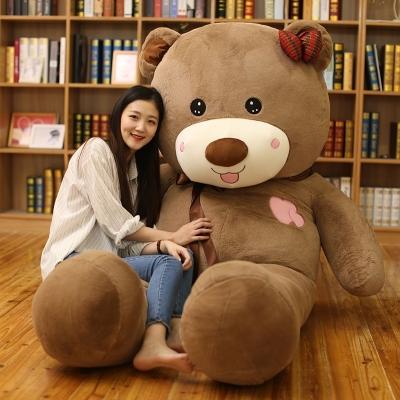 8米2米抱抱熊布娃娃公仔战舰小号积木女生圣诞节闺蜜生日特大号布朗熊狗熊礼物最大的世界图片