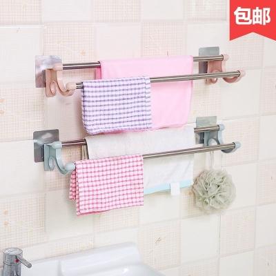 收纳架浴室卫生间挂件拖鞋架大衣架挂钩架冲凉房置物架放东西架子