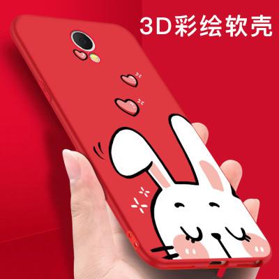 魅族魅蓝note5手机壳note6手机套m6/M5note保护套卡通硅胶软全包