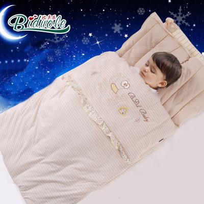 婴儿睡袋春秋冬款防踢被 纯棉加厚宝宝睡袋儿童用品