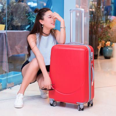 行李箱女24寸拉杆箱男20寸密码箱登机箱学生旅行箱包26寸皮箱子22