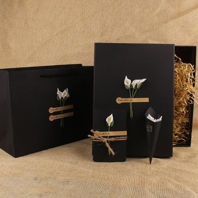 礼品盒长方形正方形大小号 生日礼物包装盒 伴手礼创意文艺小清新