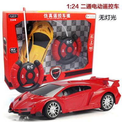 兰博基尼遥控赛车玩具汽车遥控法拉利遥控车儿童益智玩具生日礼物