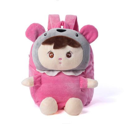 手提袋学生韩版儿童雨披女书包链节服装女年级抖音同款可爱娃娃全