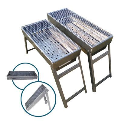 碳烤箱烧烤桌子不锈钢盘子孜然调料烤鱼锅调味料烤箱家用鸡柳串烤