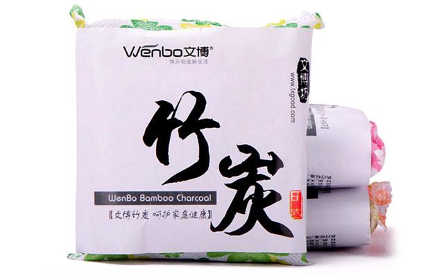 10包装文博装修除味吸湿净化空气甲醛家用活性炭包 50g竹炭包碳包
