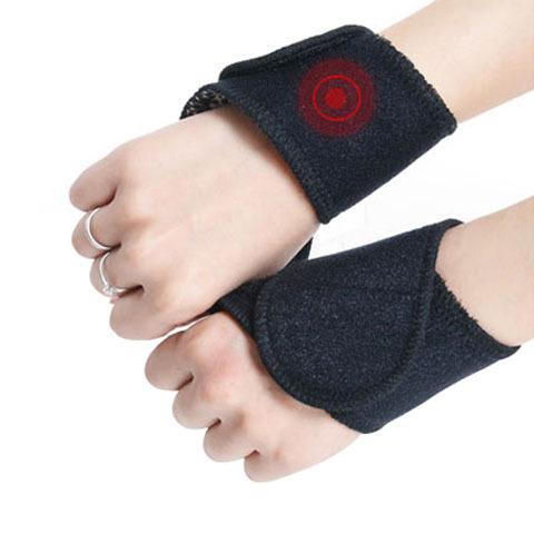 托玛琳自发热护腕带磁疗透气运动护手腕扭伤保暖健身固定护具男女