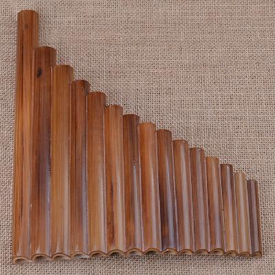 【15管苦竹排箫】G调苦竹排笛培训教学成人入门学生初学吹奏乐器