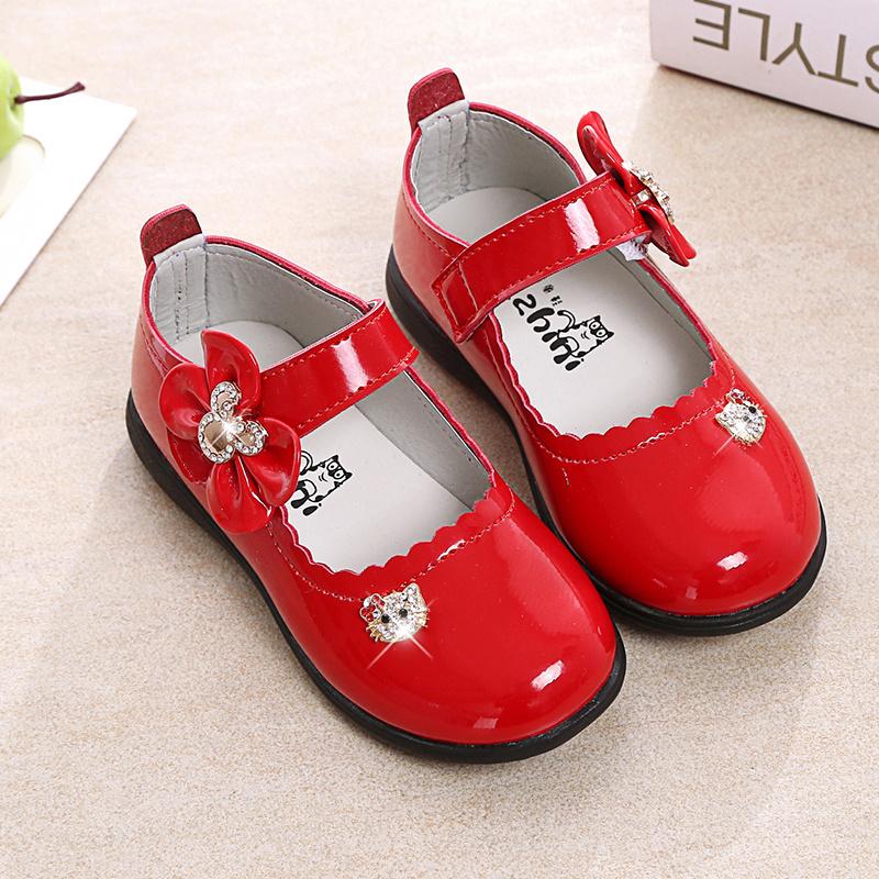 女童皮鞋软底童鞋公主鞋2021春季新款儿童鞋宝宝鞋舞蹈鞋学生单鞋【3月5日发完】